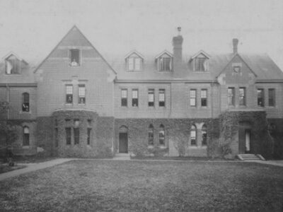 The façade of Moore College, 1890 (Samuel Marsden Archives, Moore Theological College)